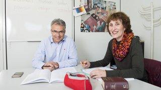 En Valais, les cours d'allemand ont davantage la cote que les cours d'anglais