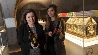 Saint-Maurice: l'abbaye mise sur son vin pour se démarquer