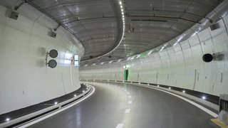A9: ouverture du tunnel d'Eyholz, perturbations à venir