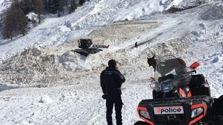 Avalanche au vallon d'Arbi: les recherches sont interrompues