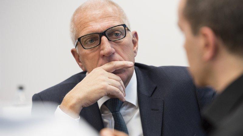 Soupçonné de gestion déloyale lorsqu'il présidait la société de cartes de crédit Aduno, Pierin Vincenz se trouve en détention préventive depuis la fin février.