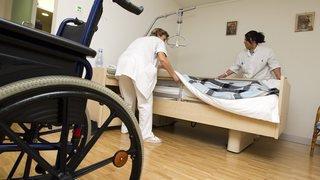 Troisième âge: de plus en plus de lits vides dans les EMS