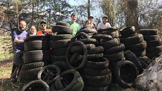 1880kg de déchets ramassés au Bois de Finges