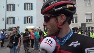 Tour de Romandie: le Vaudois Danilo Wyss s'exprime l'issue de la 1ère étape