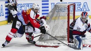 Hockey sur glace: la Suisse inquiète avant de rassurer contre la Norvège