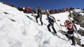 PDG 2018: le passage des coureurs mercredi au col de la Rosablanche