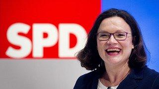 Allemagne: le SPD élit pour la première fois une femme à sa présidence