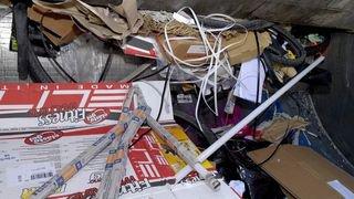 Sion: déchets encombrants en hausse dans la rue