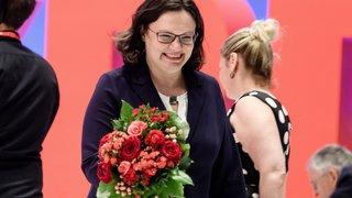 Première féminine pour les sociaux-démocrates