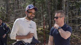 Le Valaisan Nicolas Lathion est conseillé par la star du rallye Sébastien Loeb