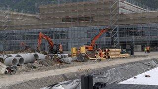 La construction de l'Hôpital Riviera-Chablais en chiffres