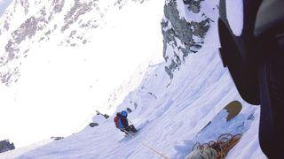 Freeride: à 7 ans, un Valaisan skie le mythique Bec des Rosses de l'Xtreme de Verbier