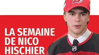 Retrouvez la semaine du hockeyeur valaisan Nico Hischier