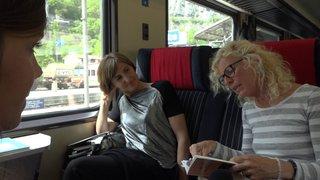 Salon du Livre: la littérature valaisanne se déguste en train sur le trajet Sion-Genève