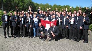 Ça s'est passé le 5 mai 2018: le Valaisia Brass Band sacré champion d'Europe