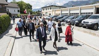 Grand Conseil: Anne-Marie Sauthier-Luyet accueillie à Savièse en tant que présidente du parlement valaisan.