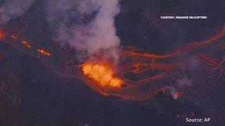 Hawaii: habitations englouties par la lave du volcan Kilauea