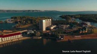 Visite guidée de l'hôtel de la Nati en Russie