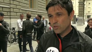 Sortie à vélo des parlementaires avec Fabian Cancellara