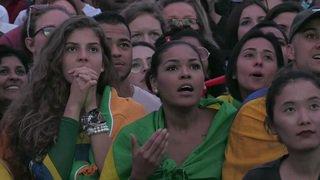 Brésil - Suisse: le match de la coupe du Monde vu par les supporters romands