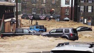 Inondations monstres dans le Maryland: état d'urgence décrété