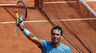 Tennis - Roland-Garros: légèrement bousculé, Nadal file en quarts