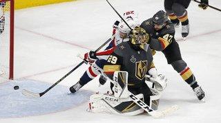 Hockey - NHL: Luca Sbisa et les Golden Knights battus 4-3 par les Capitals en finale de la Coupe Stanley