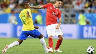 Coupe du monde: le match Brésil-Suisse en images