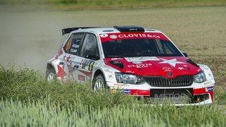 Le pilote de Verbier Mike Coppens occupe la tête du Rallye du Chablais au terme de la première journée