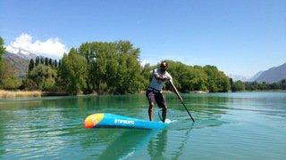 Stand up paddle: l'expérimenté valaisan Nick Crettenand face à une jeune concurrence