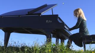 La pianiste montheysanne Béatrice Berrut rêve au sommet du Moléson