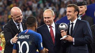Coupe du monde 2018: les Bleus vont recevoir la Légion d'honneur