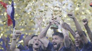 Coupe du monde 2018: une France jeune mais une France qui gagne