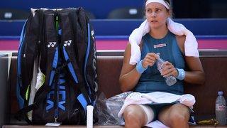 Tennis-Gstaad: l'argovienne Stefanie Vögele battue lourdement en deux sets au premier tour