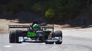 Automobilisme: Eric Berguerand pulvérise le record d'Ayent-Anzère