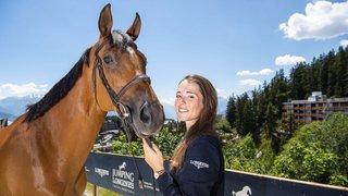 La cavalière valaisanne Aurelia Loser monte en puissance avec ses chevaux