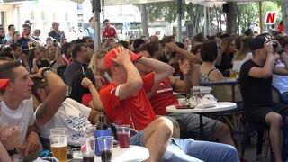 Coupe du monde 2018: les Valaisans déçus et frustrés de la performance de l'équipe de Suisse face à la Suède