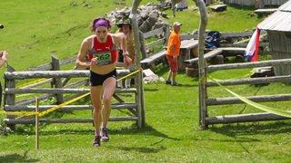 Maude Mathys, la reine des courses de montagne
