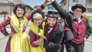 Fête cantonale des costumes à Fully