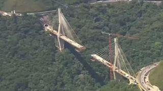 En Colombie, un pont a été détruit avant même d'être inauguré