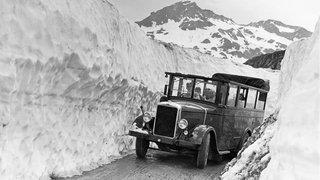 La route du col du Grand-Saint-Bernard, hier et aujourd'hui, s'expose au Musée de l'hospice
