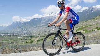 Le cycliste Sébastien Reichenbach chute à l'entraînement et se fracture la clavicule