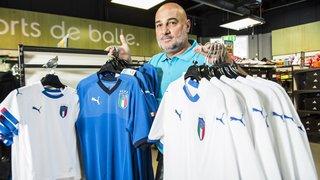 Coupe du monde: malgré l'absence de leur équipe nationale, les Italiens du Valais gardent le sourire