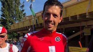 Steve Morabito enlève le titre de champion de Suisse sur route