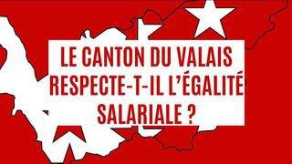 Le canton du Valais respecte-t-il l'égalité salariale?