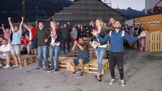 Coupe du Monde 2018: les supporters en Valais vibrent pour leur pays