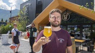 Martigny: WhiteFrontier, une bière au goût d'aventure