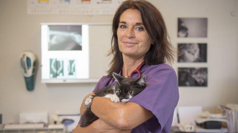 Romaine Spahr, vétérinaire comportementaliste.