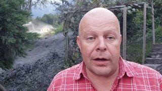 Valais: une lave torrentielle a foncé sur Chamoson suite à un orage, les explications du président de la commune