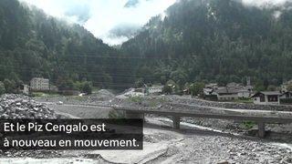 Grisons: un an après, aucune trace des victimes de l'éboulement à Bondo